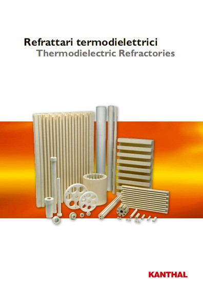 Thermodielectric refractories